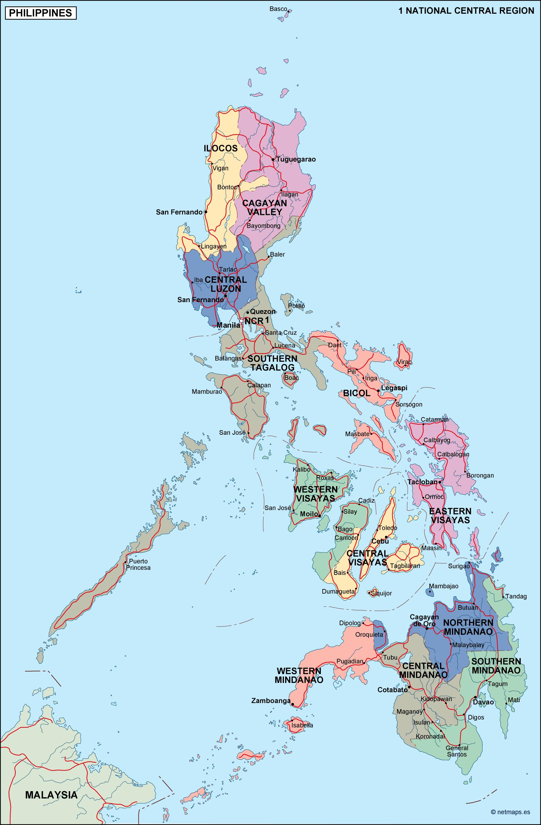 Map Of Asia Vector.Country Vector Maps Asia Vector Asia Maps Illustrator Maps Of Asia