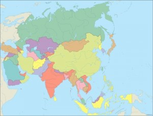 Asia City maps