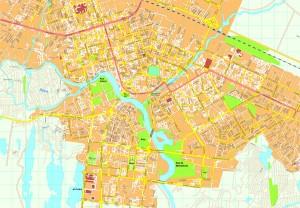 Astana map