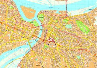 Beograd map