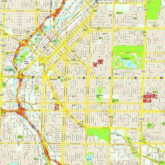 Denver map