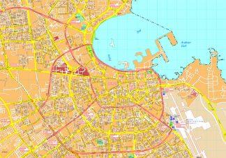 Doha map