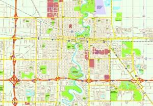 Fargo map