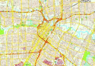 Houston map