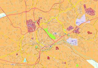 Kampala map