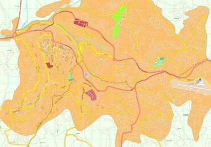 Kigali map