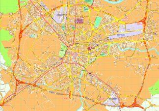 Ljubljana map
