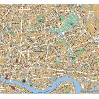 London West End map