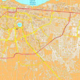 Managua map