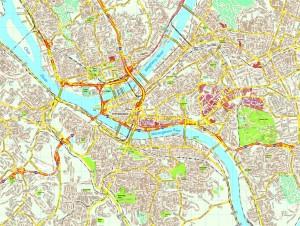 Pittsburg map