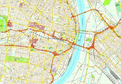 St Louis map