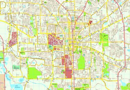 Tallahase map