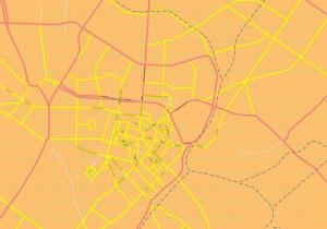Tashkent map