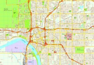 Tulsa map