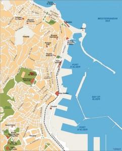 alger vector map