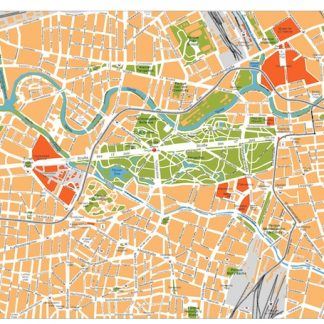 berlin vector map