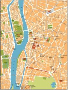 cairo vector map