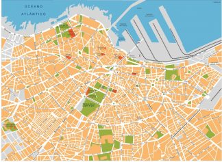 casablanca vector map