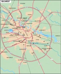 Bucarest city
