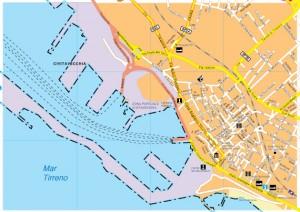 Citavecchia map