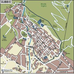 Gubbio eps map
