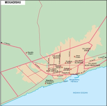 Mogadishu city