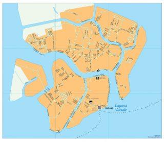 Murano map