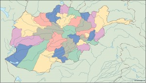 afghanistan blind map