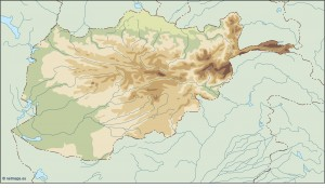 afghanistan illustrator map