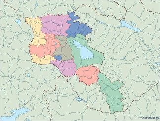 armenia blind map