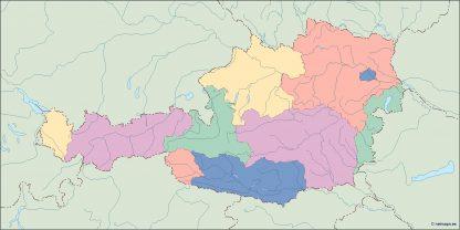 austria blind map