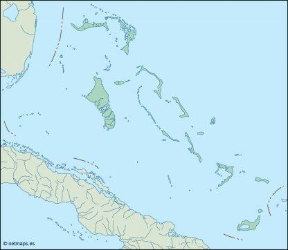bahamas blind map