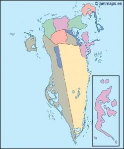 bahrain blind map