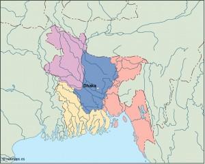 bangladesh vector map