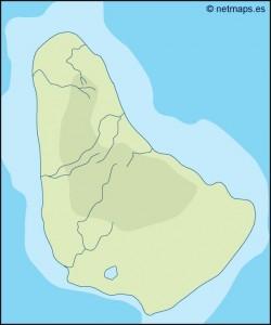 barbados illustrator map