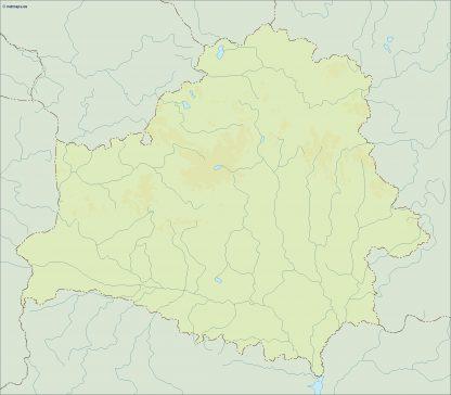 belarus illustrator map