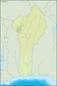 benin illustrator map