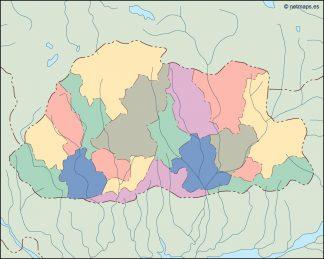 bhutan blind map