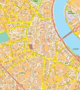 bordeaux vector map