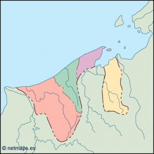 brunei blind map
