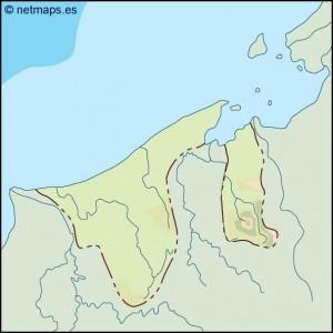 brunei illustrator map