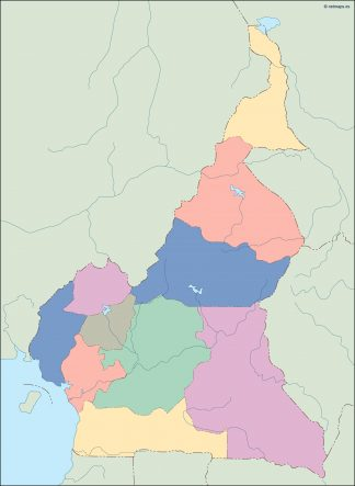 cameroon blind map
