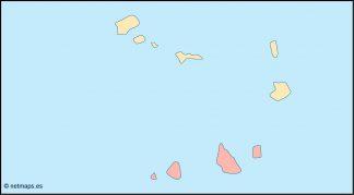 cape verde blind map