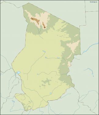 chad illustrator map