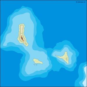 comoros illustrator map