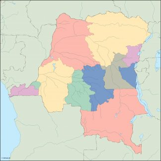 congo dem rep blind map