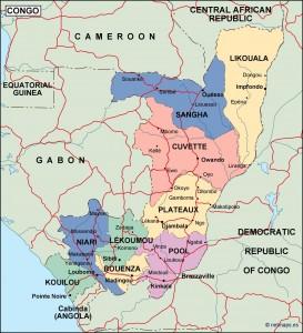 congo political map