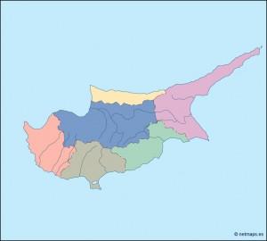 cyprus blind map