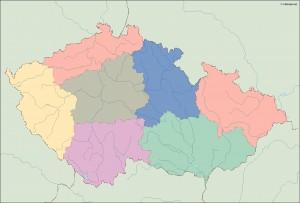 czech republic blind map