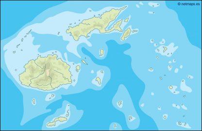 fiji illustrator map